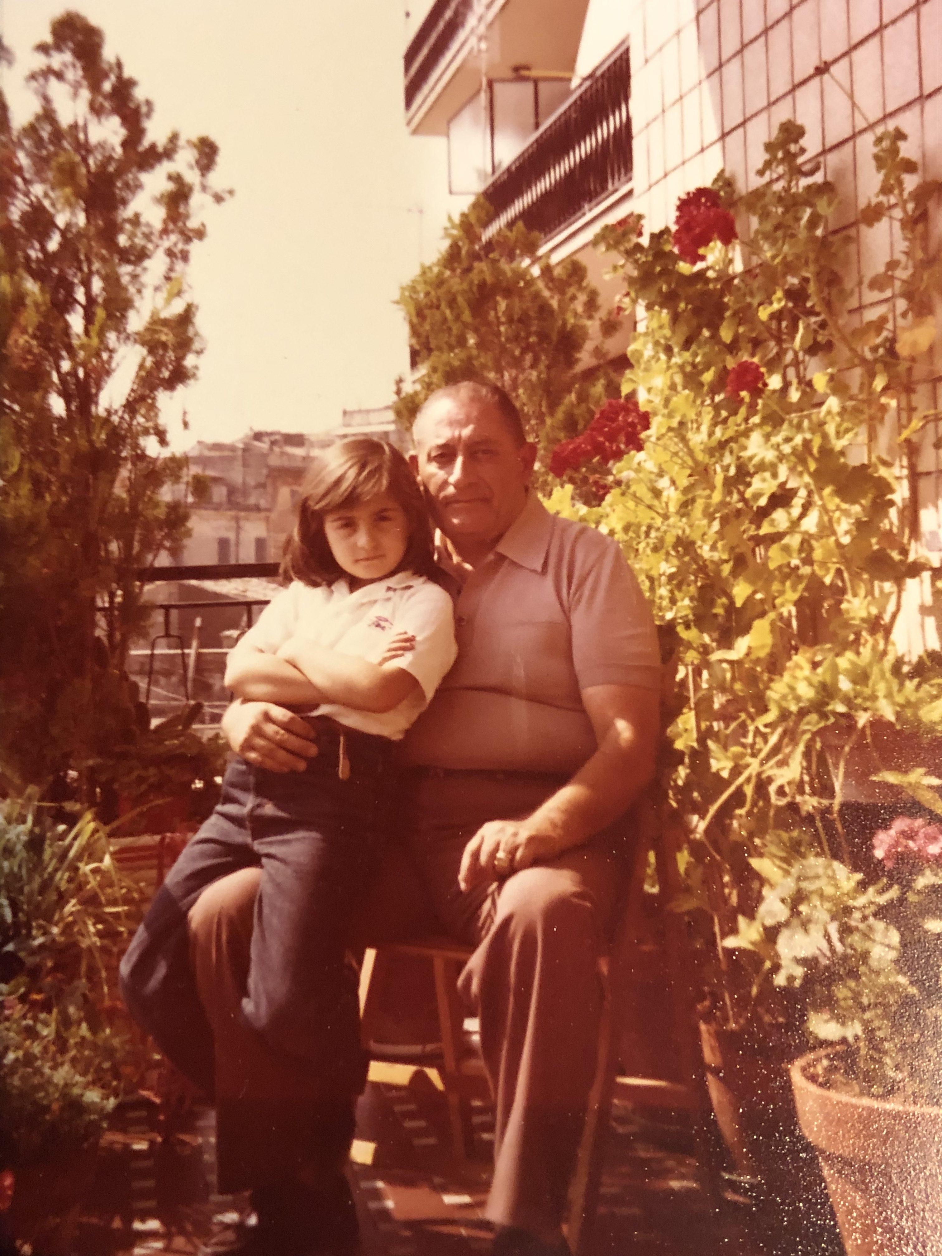 Io e mio nonno Otello Marrucci